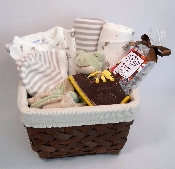 Neutral Gift Basket